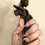 Violin G string notes