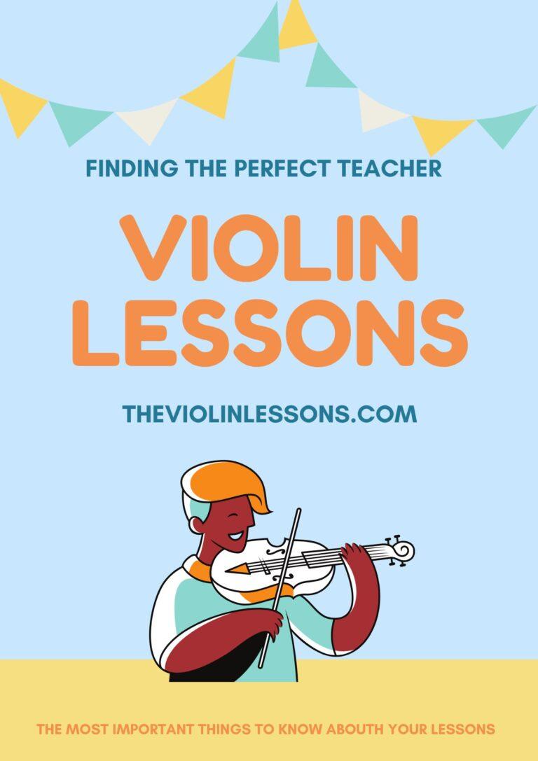 how to find a violin teacher