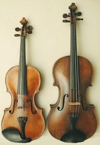 Violin vs. viola comparison