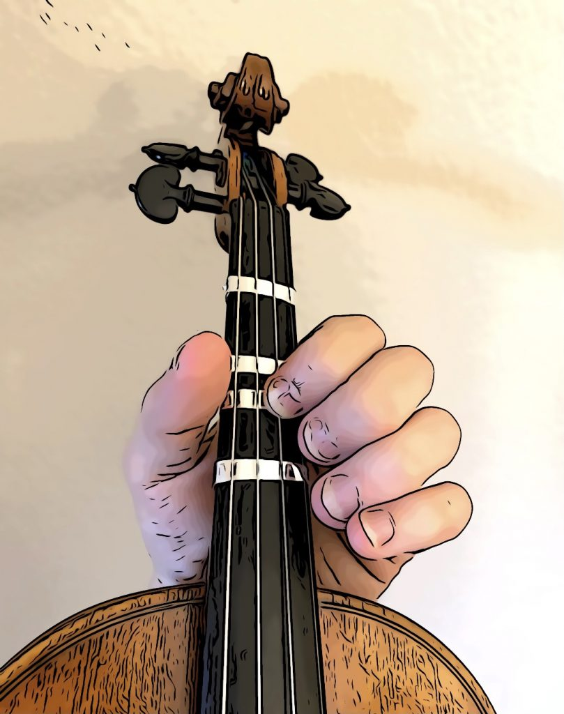 D note on A string third position