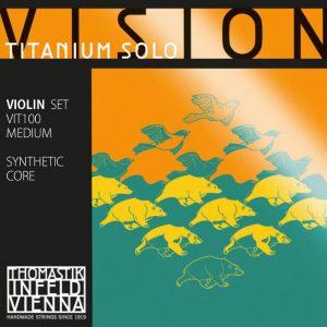 Vision titanium solo best violin strings