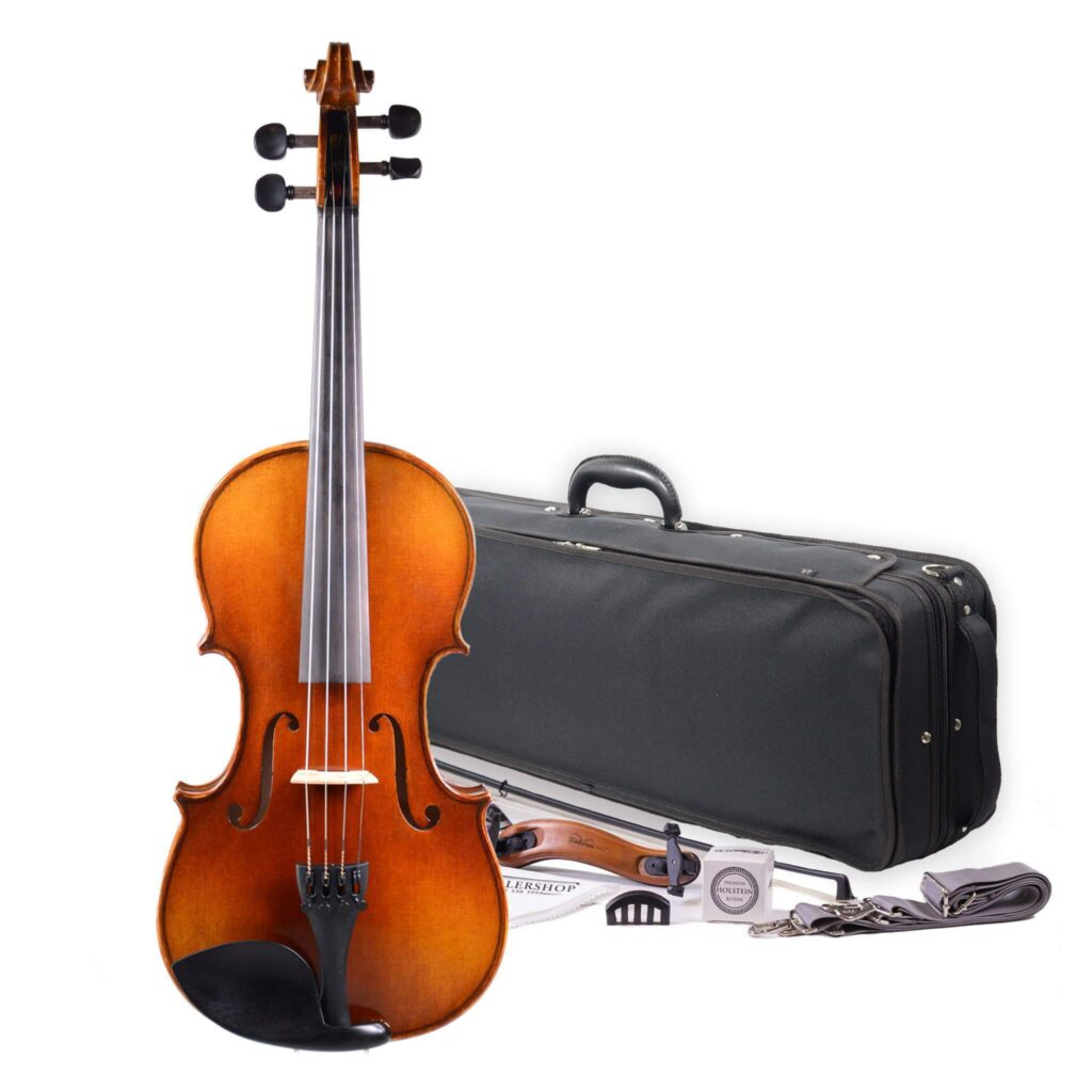 Fiddlerman artist violin outfit