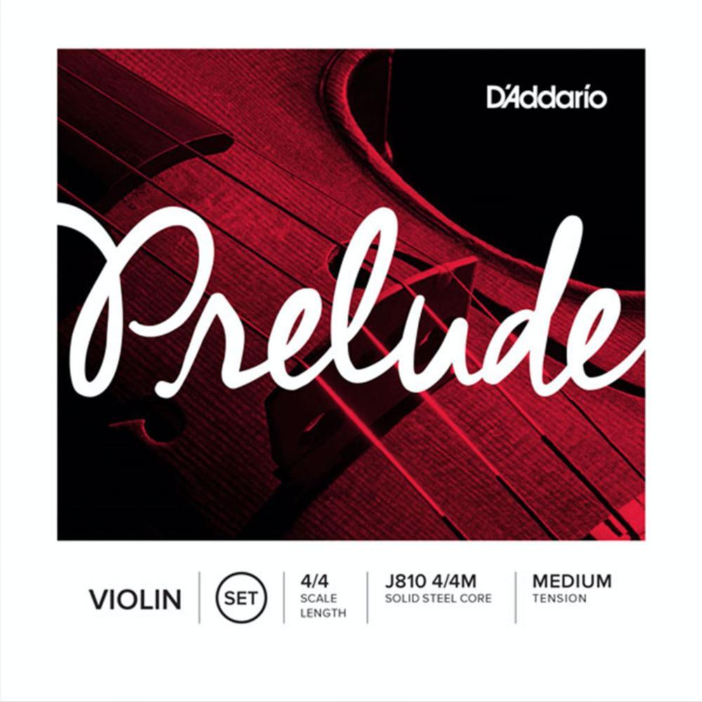 prelude violin string set